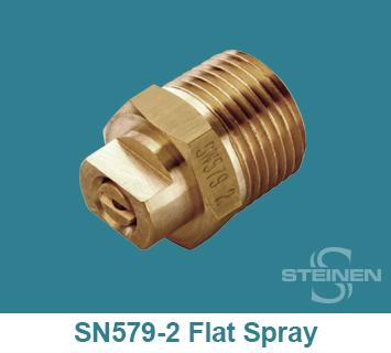 Steinen, Hahn, Mining, SN-579-2, H-U, H-VV, Flat Spray Nozzles, Flat Spray Nozzles, Flat Sprays, Wrench Flats