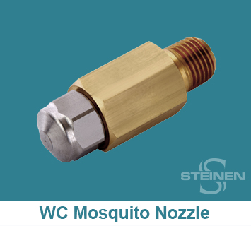 Steinen, WCH, Big-Mouth, Wide Angle, Mosquito Misting Nozzles, Mosquito Misting Spray Nozzles, Mosquito Misting Sprays