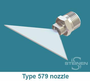 Steinen, Flat Spray, Fan-Jet, Nozzles, Flat Spray Nozzles, Flat Sprays, H-U, H-VV, Wrench Flats Spray Nozzle