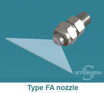 Steinen, Flat Spray, Fan-Jet, Nozzles, Flat Spray Nozzles, Flat Sprays